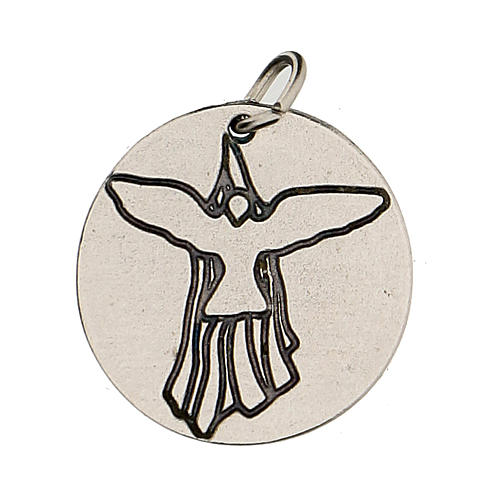 Medalla Confirmación con Paloma del Espíritu Santo 1,5 cm 1