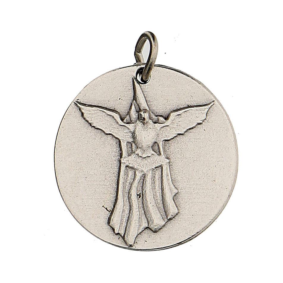 Médaille Confirmation avec Colombe du Saint Esprit 1,5 cm 4