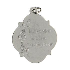 Medalla recuerdo de la Comunión con esmalte 3 cm zamak s2