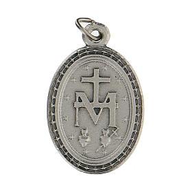 Colgante medalla con Virgen Milagrosa 2,5 cm zamak s2
