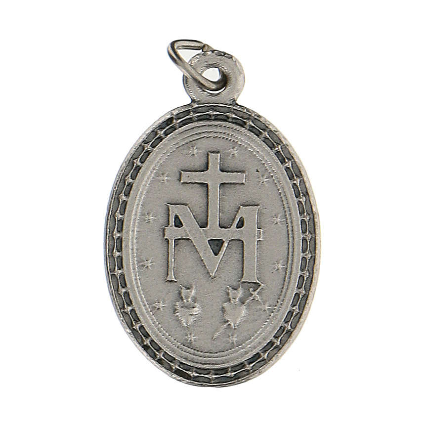 Charms a medaglia con Madonna Miracolosa 2,5 cm zama 4