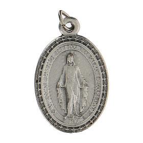 Charms a medaglia con Madonna Miracolosa 2,5 cm zama s1