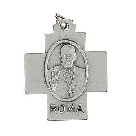 Croce Pax Papa Francesco a medaglia 2,5 cm zama s2