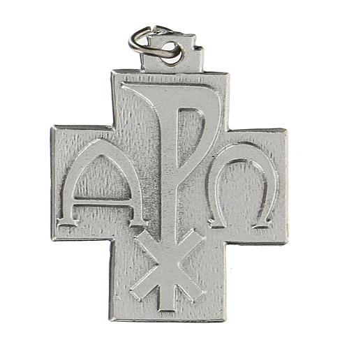 Croce Pax Papa Francesco a medaglia 2,5 cm zama 1