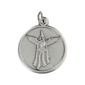 Médaille ronde pour Confirmation avec St Esprit 1,5 cm zamak s1