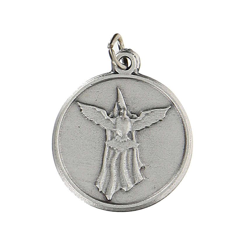 Medaglia tonda per Cresima con Spirito Santo 1,5 cm zama 4
