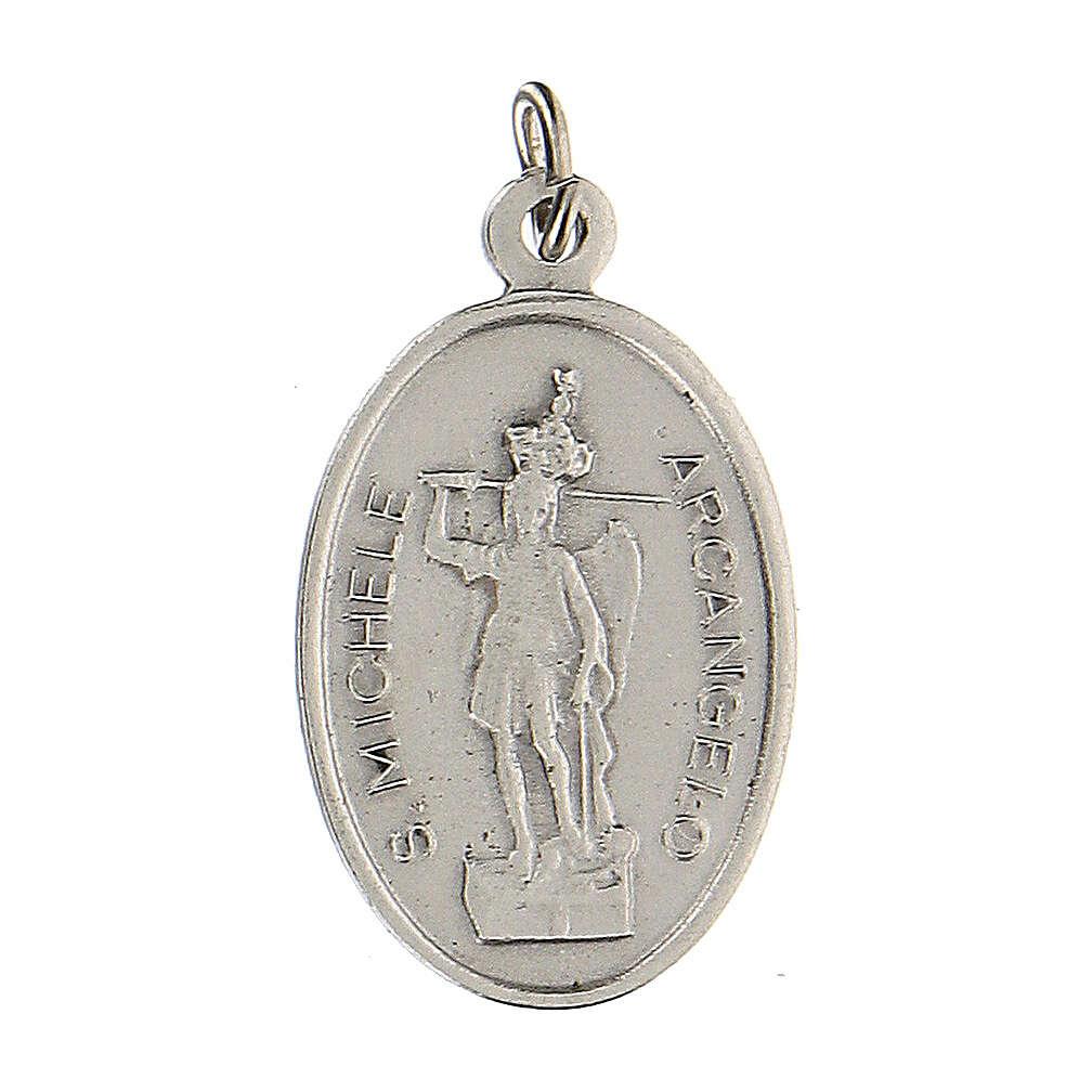 Medalla San Miguel Arcángel Virgen Milagrosa 2,5 cm 4