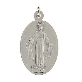 Medalla San Miguel Arcángel Virgen Milagrosa 2,5 cm s1