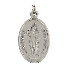 Medalla San Miguel Arcángel Virgen Milagrosa 2,5 cm s2