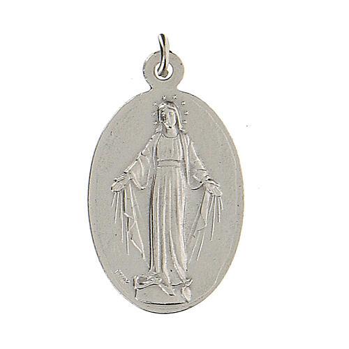 Medalla San Miguel Arcángel Virgen Milagrosa 2,5 cm 2