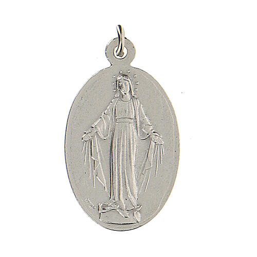 Medaglietta San Michele Arcangelo Madonna Miracolosa 2,5 cm 2