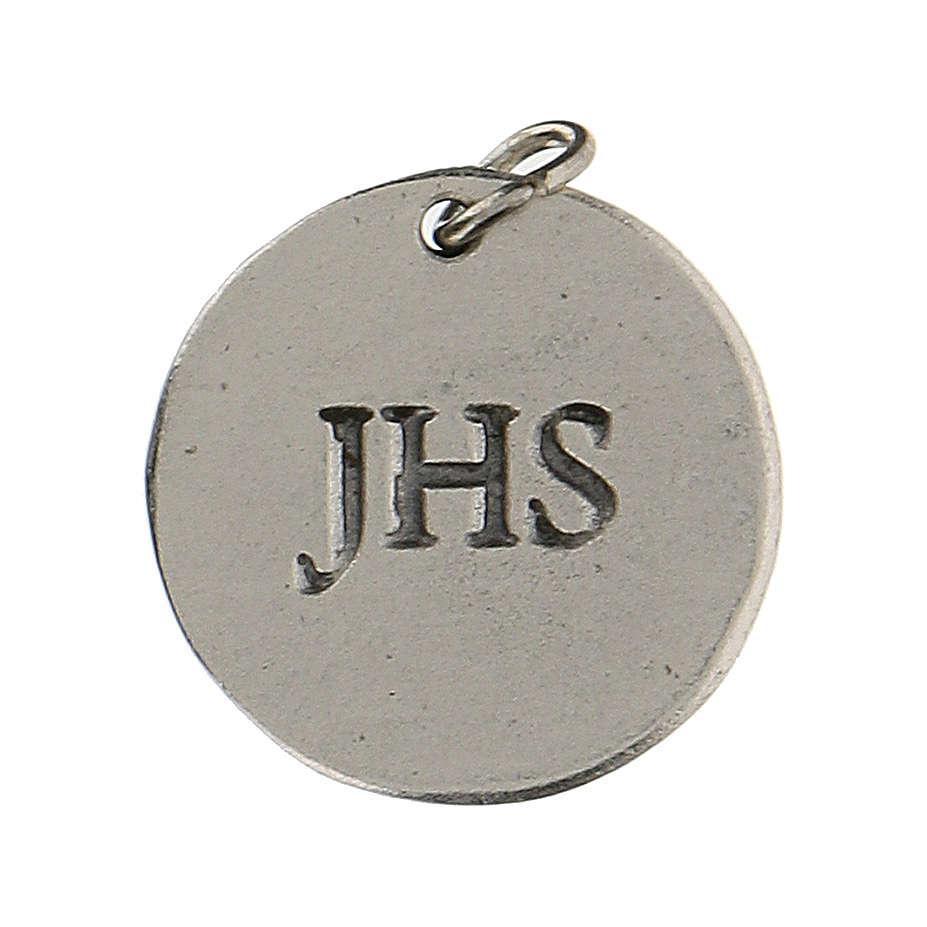 Medaglietta tonda Calice IHS per Prima Comunione 1,5 zama 4
