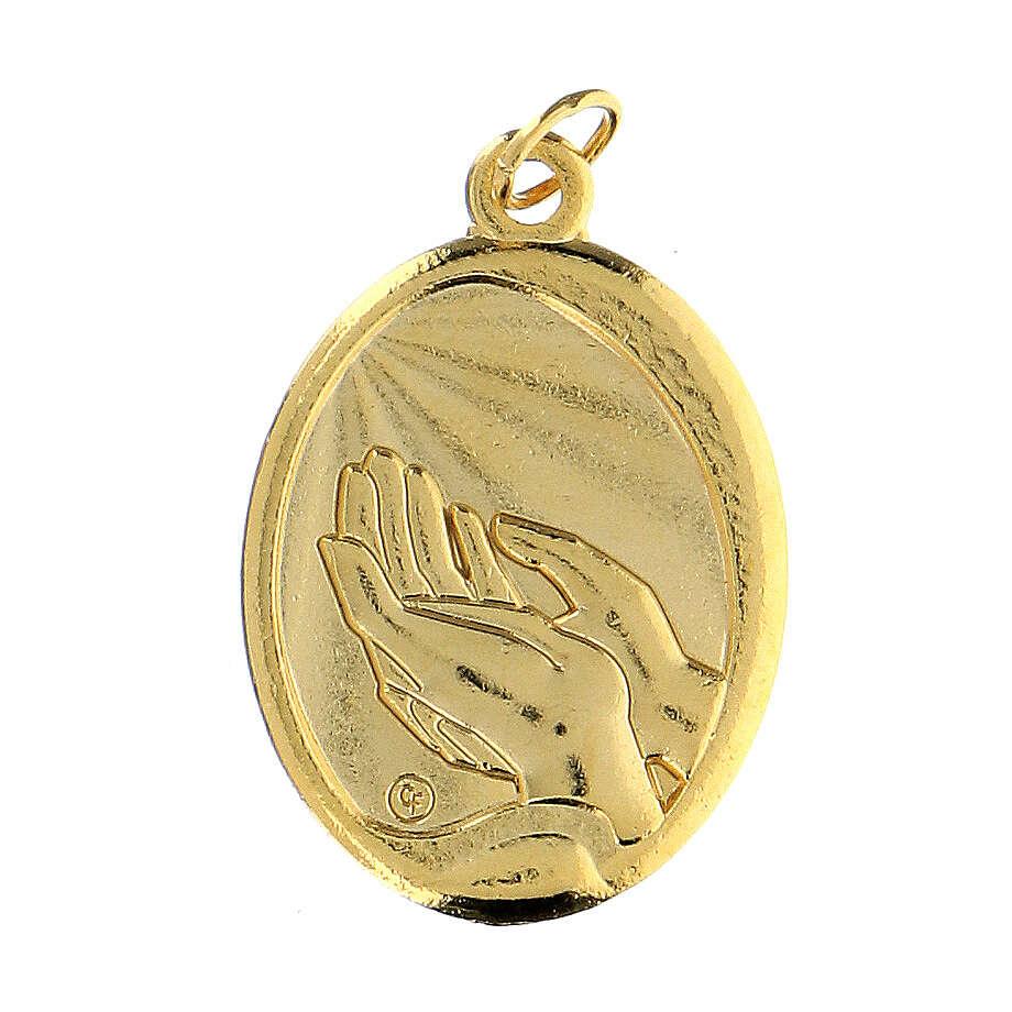 Medalla dorada Comunión 4