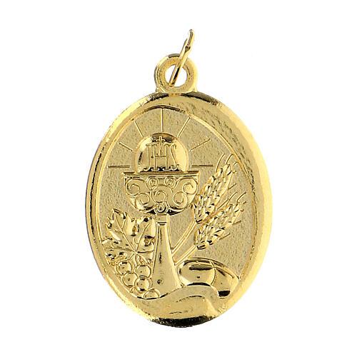 Medalla dorada Comunión 1