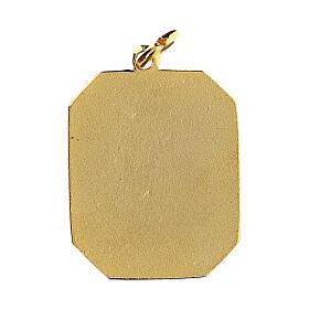 Medalla esmaltada Padre Pío s2