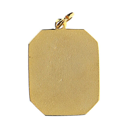 Medalik emaliowany Ojciec Pio 2