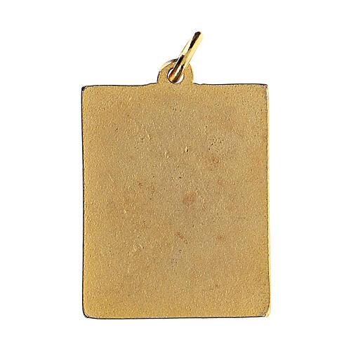 St. Francis enamelled medal 2