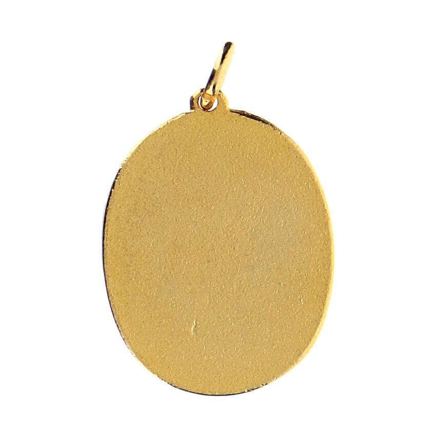 Colgante medalla Madre Misericordiosa 4