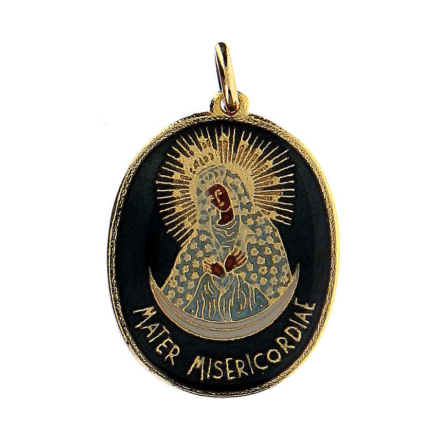 Ciondolo medaglia Madre Misericordiosa 4