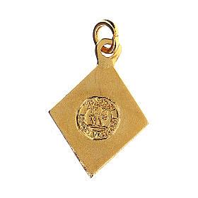 Little angel rhombus medal, enameled s2