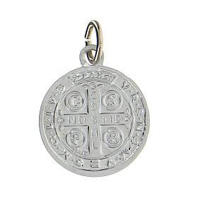 Saint Benedict medals,SET of 100, 1.8 cm, aluminium