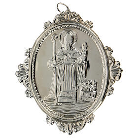 Confraternity Medal in metal, Saint Nicholas s4