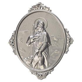 Medaglione per confraternite San Rocco metallo s1