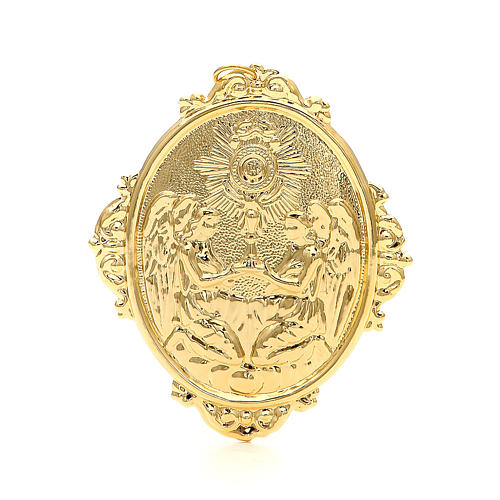 Confraternity Medal in metal, Blessed Sacrament 2