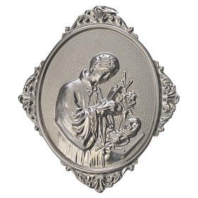 Confraternity Medal in metal, Saint Luigi s1