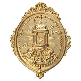Confraternity Medal in metal, Ambrosian Monstrance s1