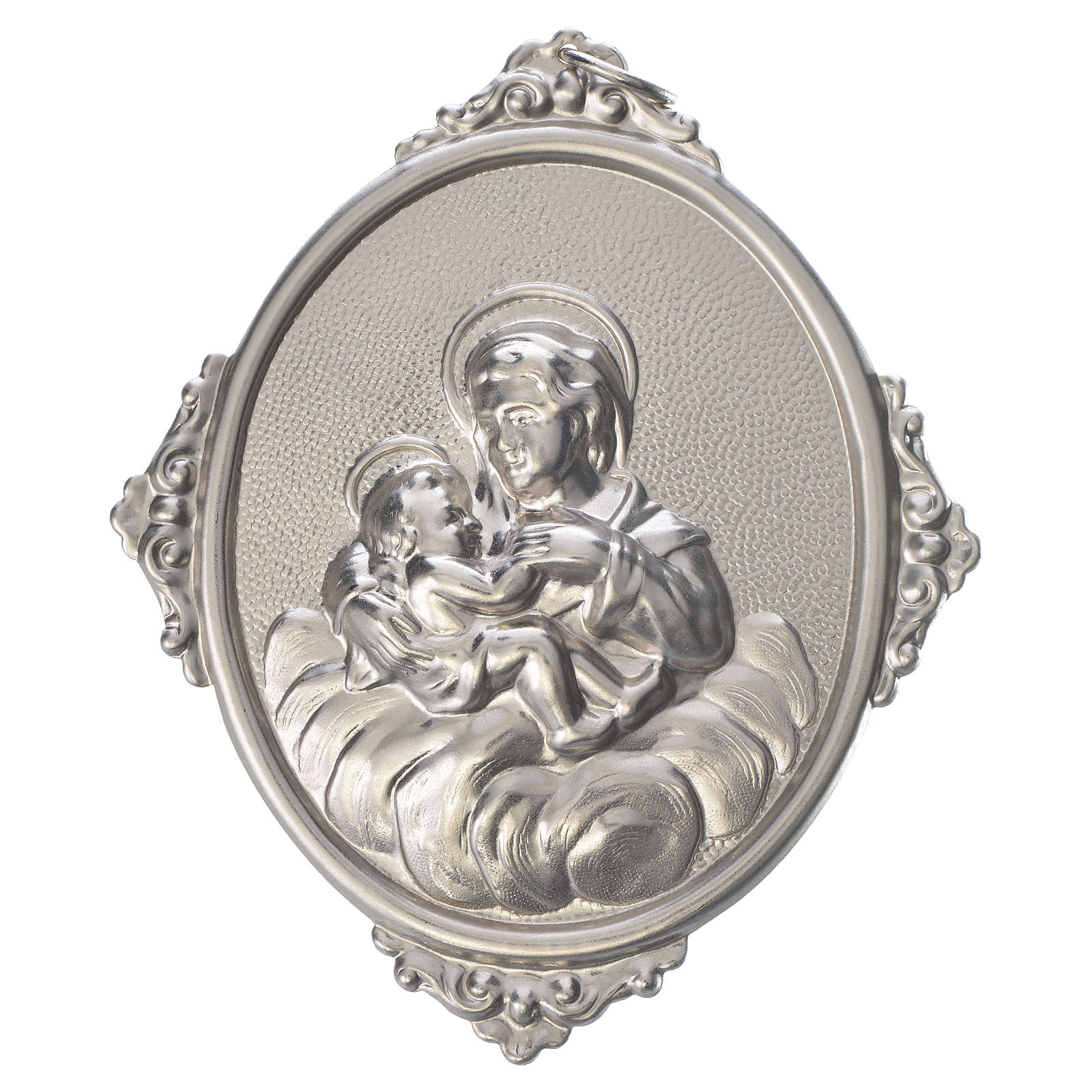 Confraternity Medal in brass, Our Lady of Graces 3