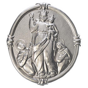 Confraternity Medal in brass, Our Lady of Pompei s1
