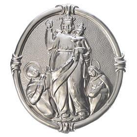 Medalla cofradía Virgen de Pompeya metal s1