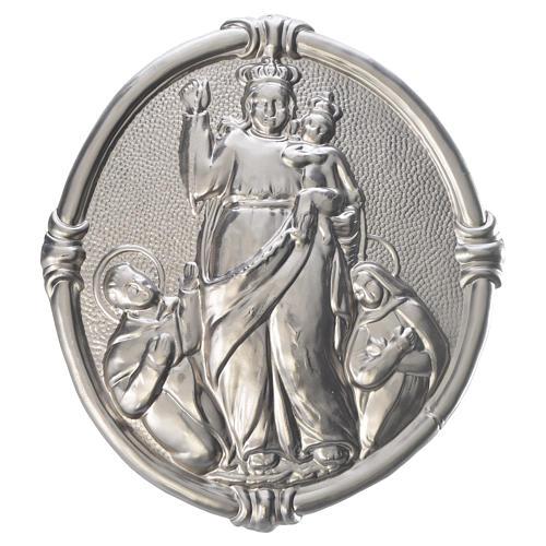 Medalla cofradía Virgen de Pompeya metal 1