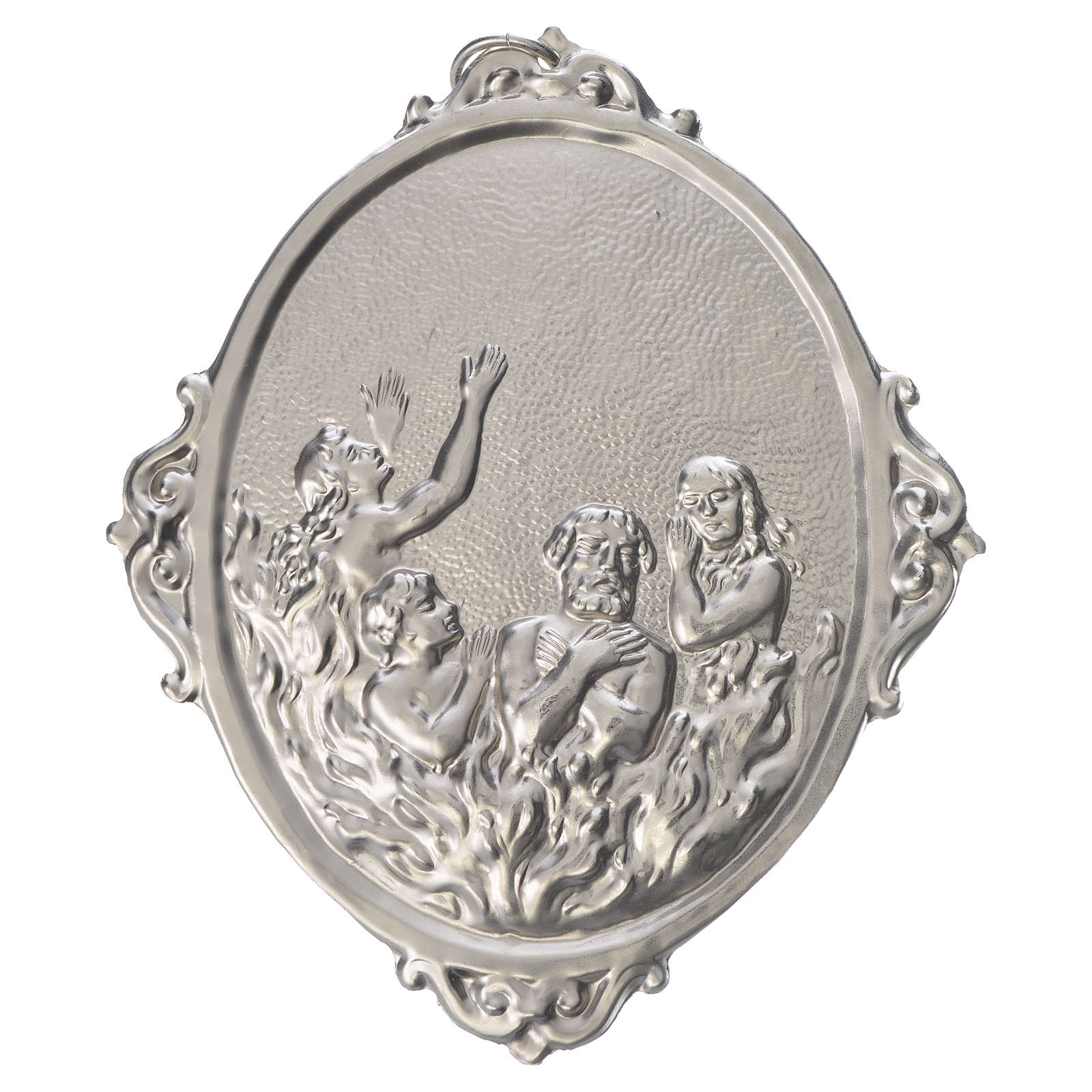 Confraternity Medal in metal, Souls in Purgatory 3