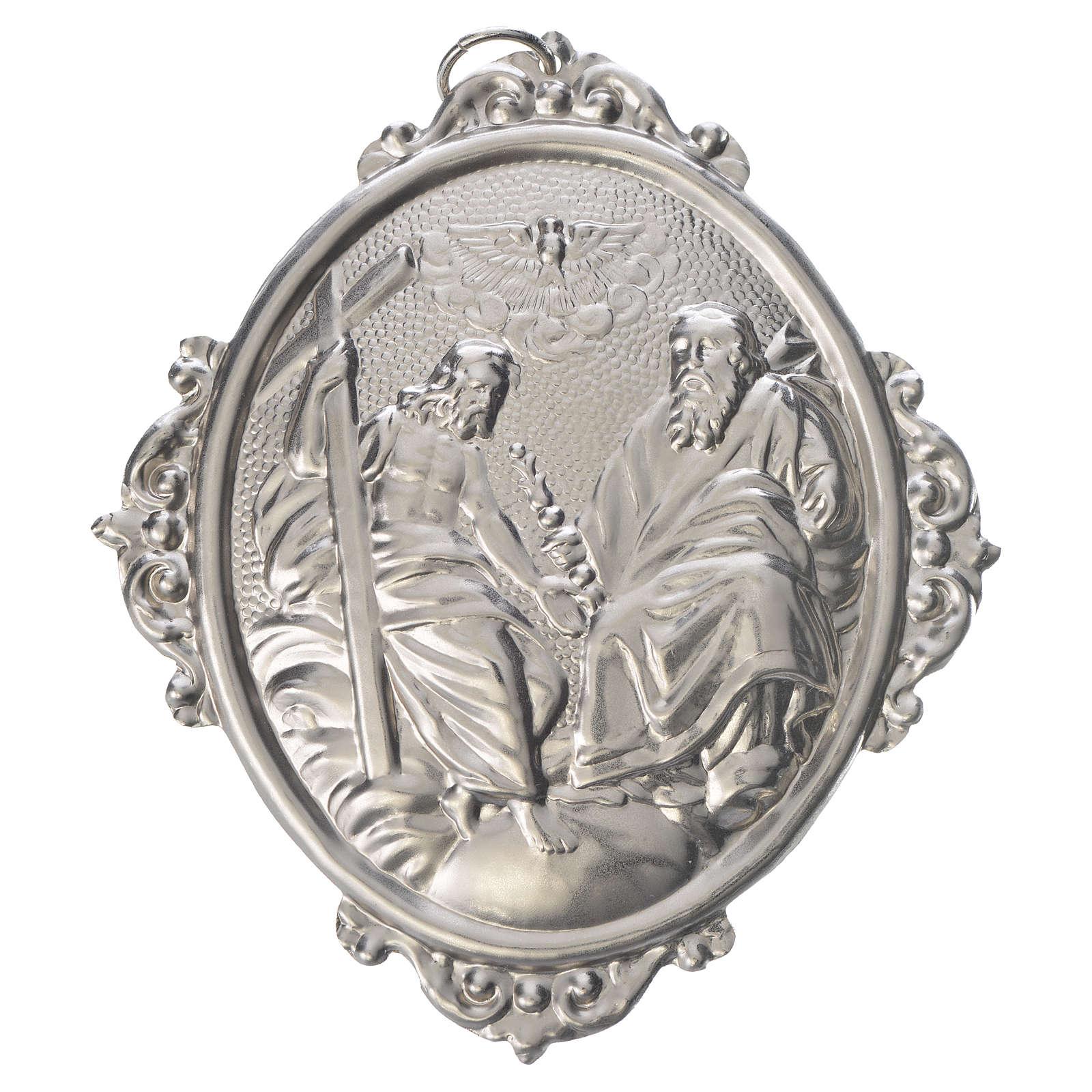 Medalla cofradía SS. Trinidad metal 3