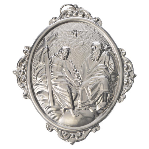 Medalla cofradía SS. Trinidad metal 1