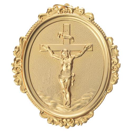 Medalla cofradía Cruz Jesús latón 1