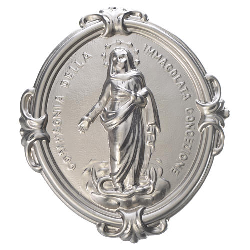 Confraternity Medal brass, Immaculate Conception 1
