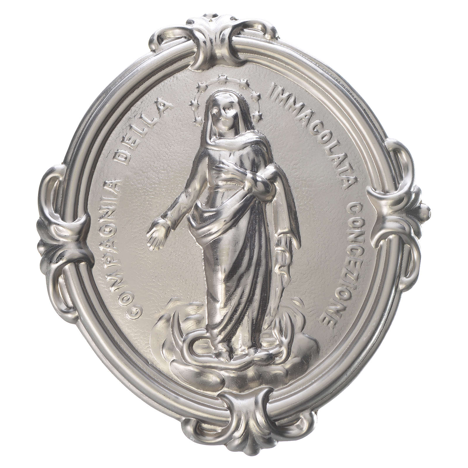 Confraternity Medal brass, Immaculate Conception 3