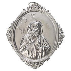 Medaglione confraternita San Francesco da Paola ottone s1