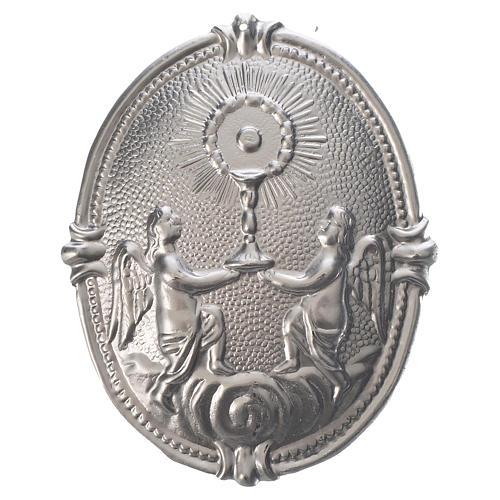 Medaglione per confraternite Ostensorio Romano con Angeli 1