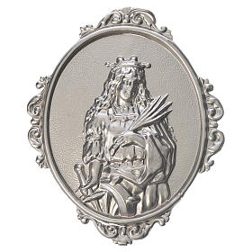 Confraternity Medal in brass, St. Catherine s1