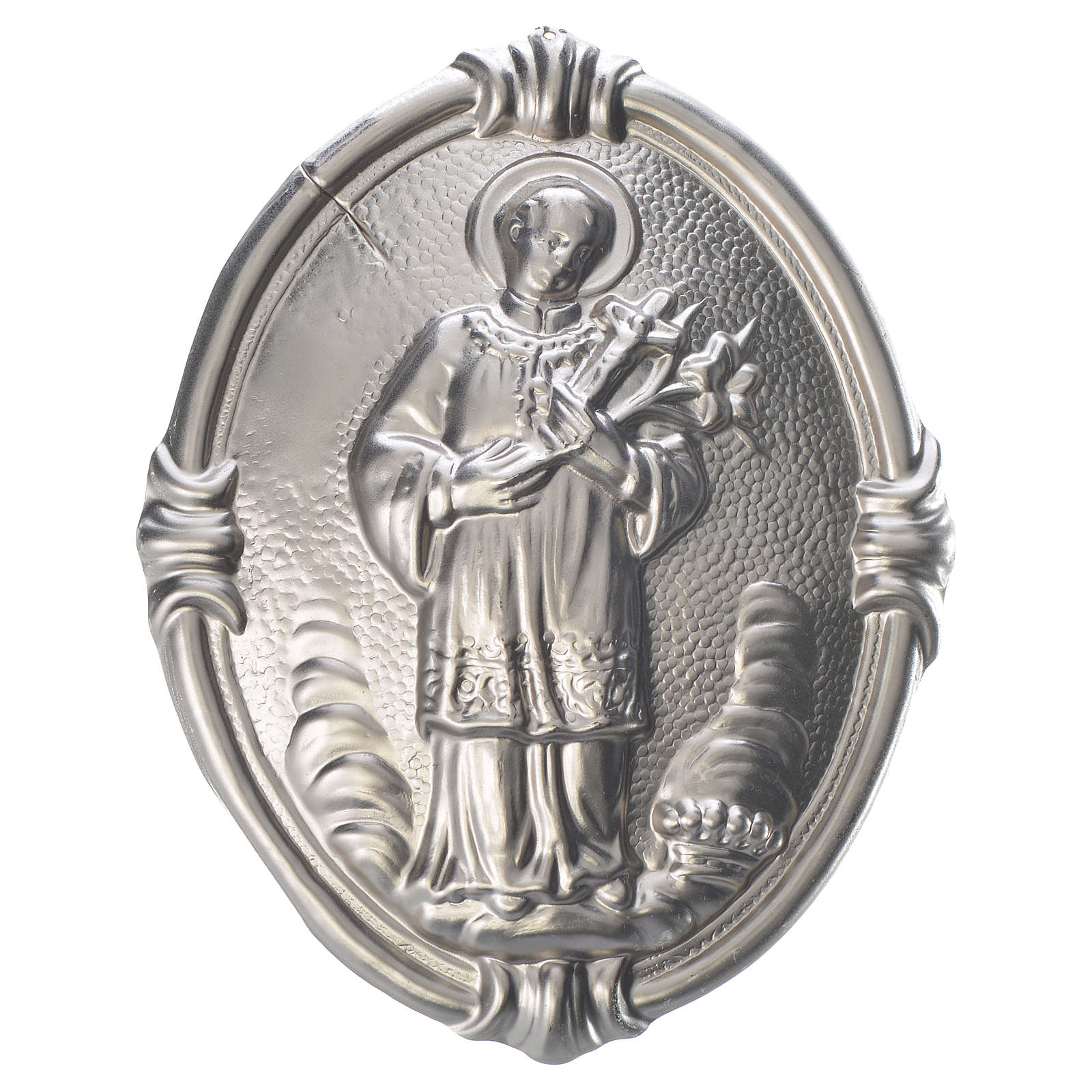 Medalla cofradía San Luis latón 3