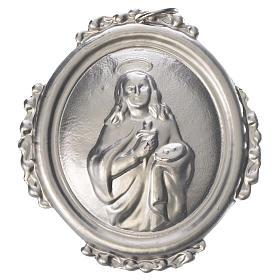 Médailles confréries et associations: Médaillon de confrérie Sainte Lucie laiton