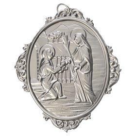 Medaglione confraternita Visita Madonna a S. Elisabetta s1