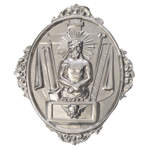 Confraternity Medal in brass, Christ in Chains 1