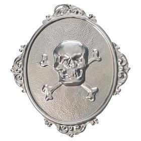 Médailles confréries et associations: Médaillon Tête de mort pour confrérie