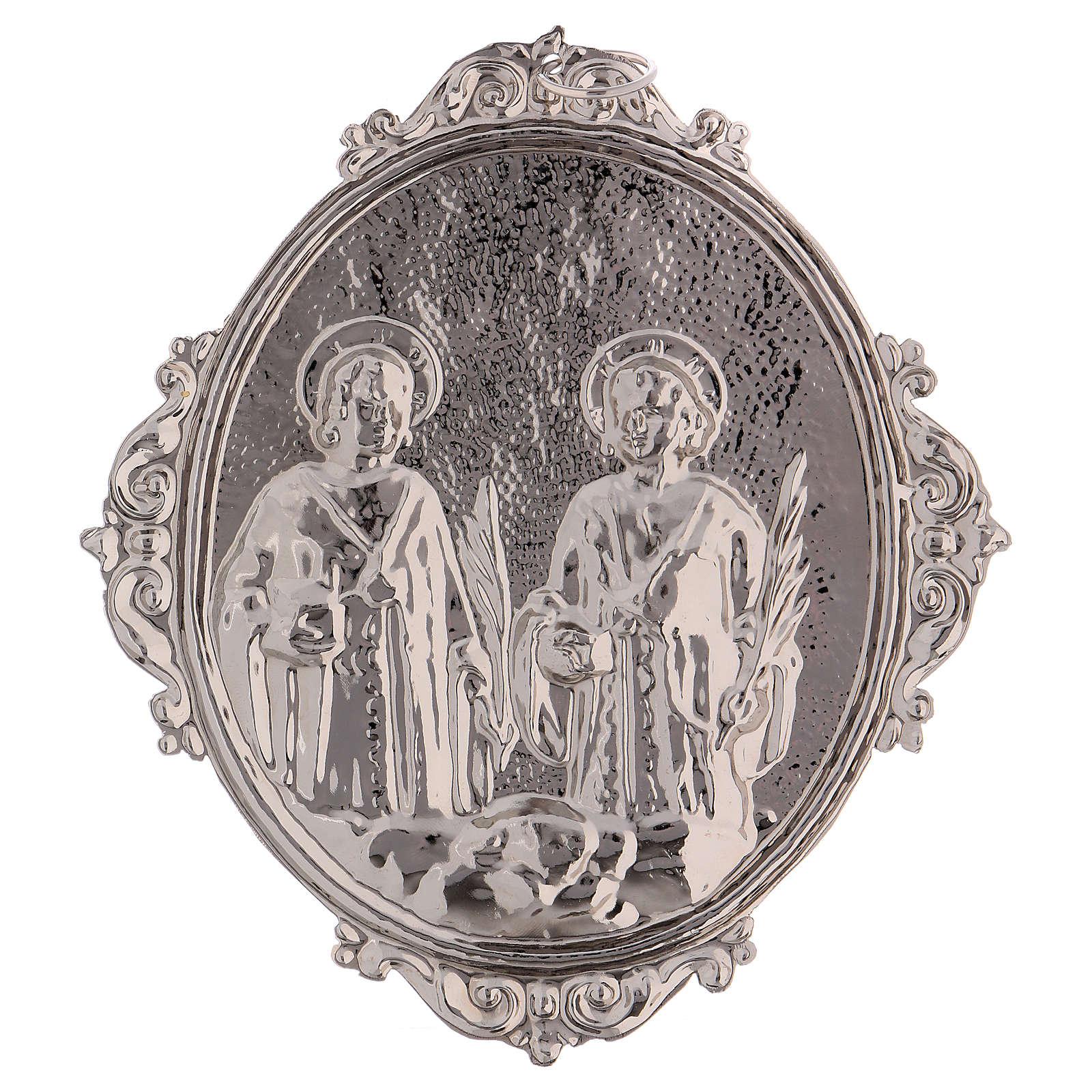 Medaglione confraternite SS. Cosma e Damiano 3