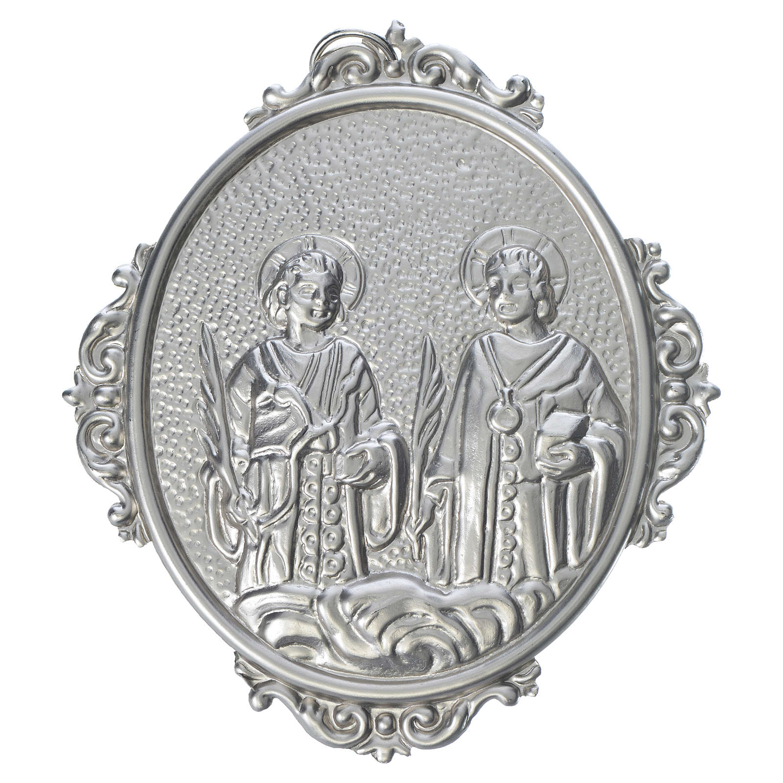 Confraternity Medal in brass, Saints Cosmas and Damian 3